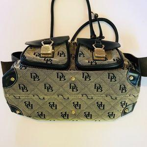 Dooney & Bourke Bags - Dooney & Bourke Anniversary Double Pocket Tote